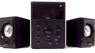 QFX CS-67BT 2.1 Channel Bluetooth USB SD RCA Wireless Speaker