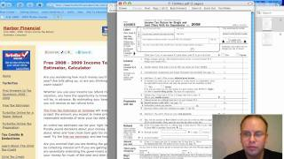Federal Income Tax, Married Filing Jointly 2012, 2013