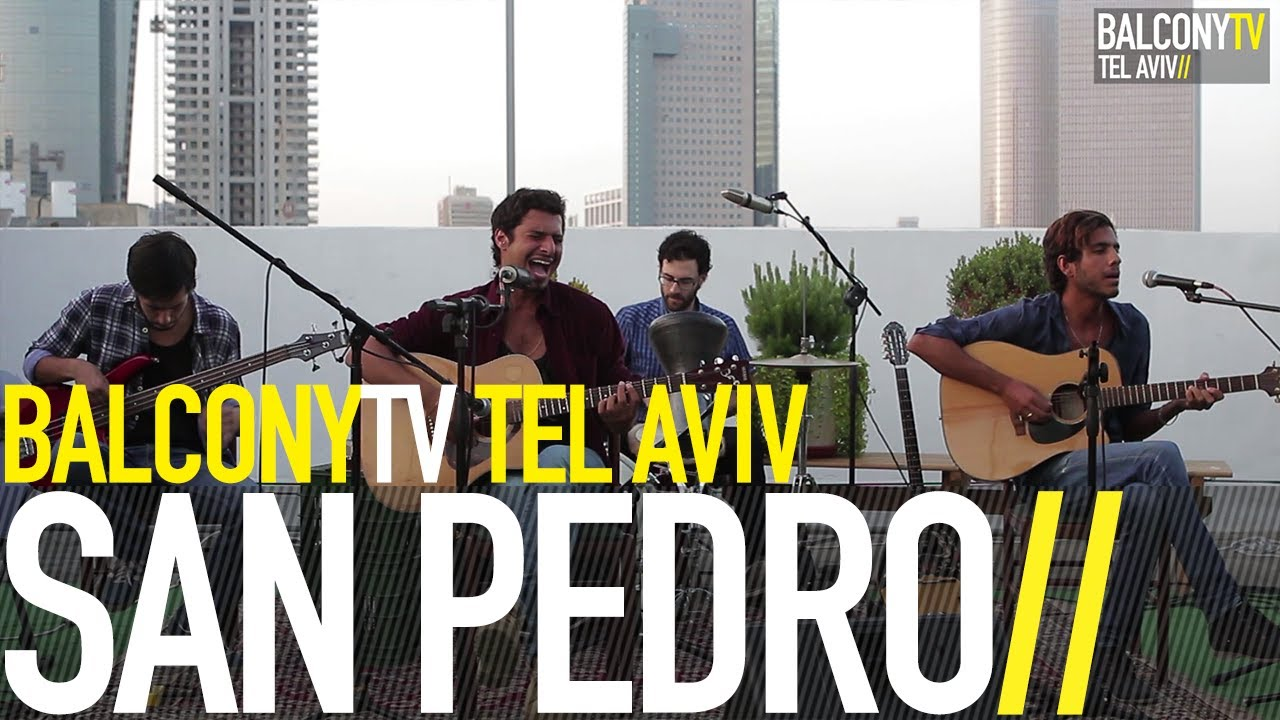 SAN PEDRO - PATIENCE (BalconyTV)