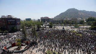 EN VIVO. Quinto día de protestas: otra vez incidentes y cacerolazos en Chile