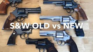 Smith & Wesson: Old vs New. Do they make them like they used to?
