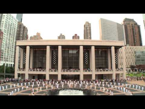 9/11 Table of Silence Project 2015 - Buglisi Dance Theatre - Lincoln Center, NYC