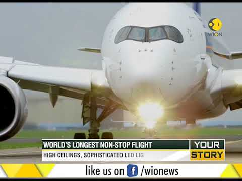 Singapore-New York: Singapore Airlines introduces world's longest non-stop flight