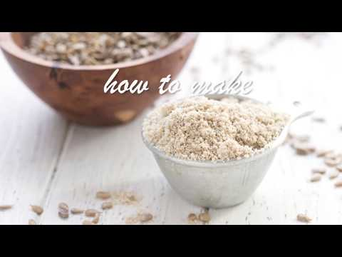 how-to-make-sunflower-seed-flour
