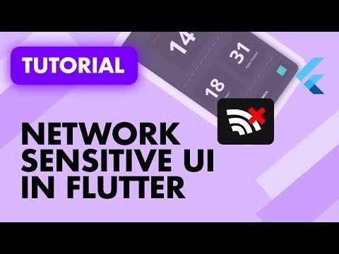 Network Sensitive UI in Flutter Using Provider and Connectivity   Flutter Provider   Flutter Network