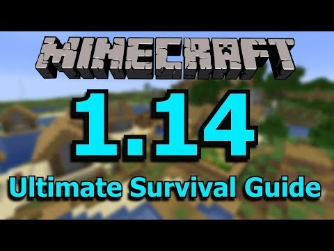 Minecraft 1.14: The Ultimate Survival Guide