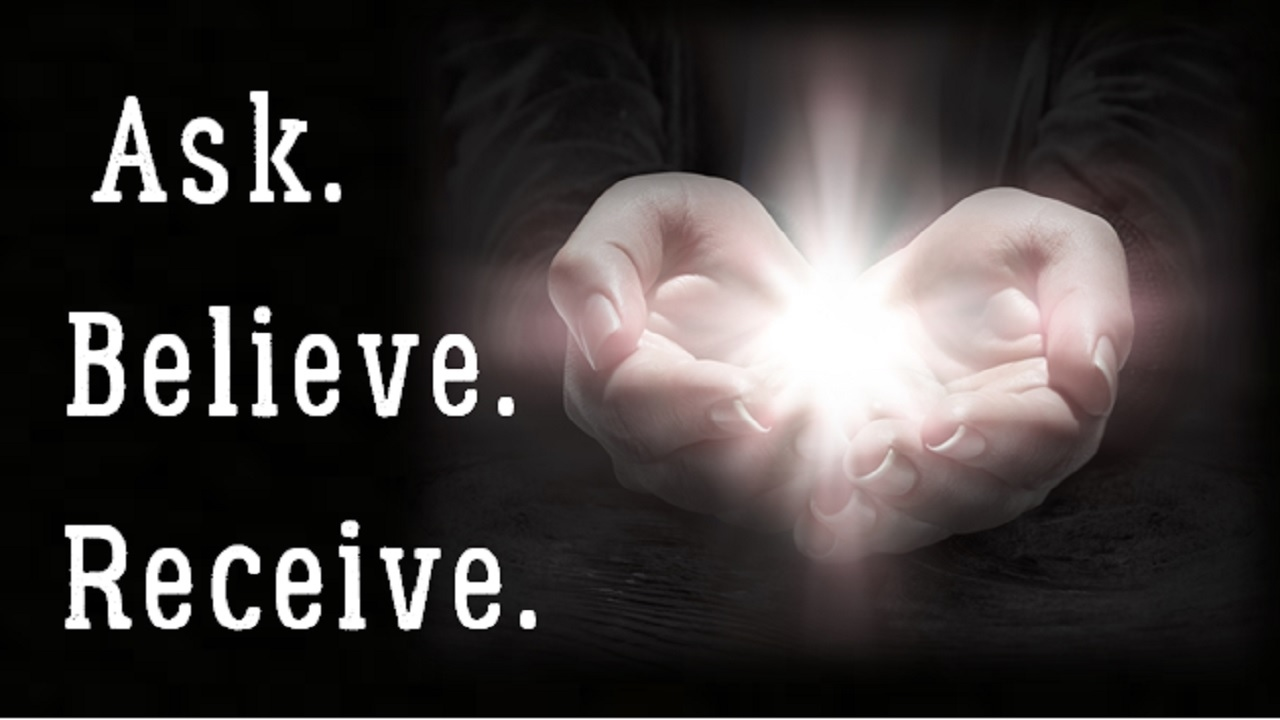 Image result for Believe to receive