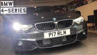 Taking Delivery of a Brand New (2017) BMW 4-Series Gran Coupé LCI (F36)