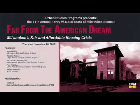 Urban Studies 11th Annual Milwaukee Summit presents: