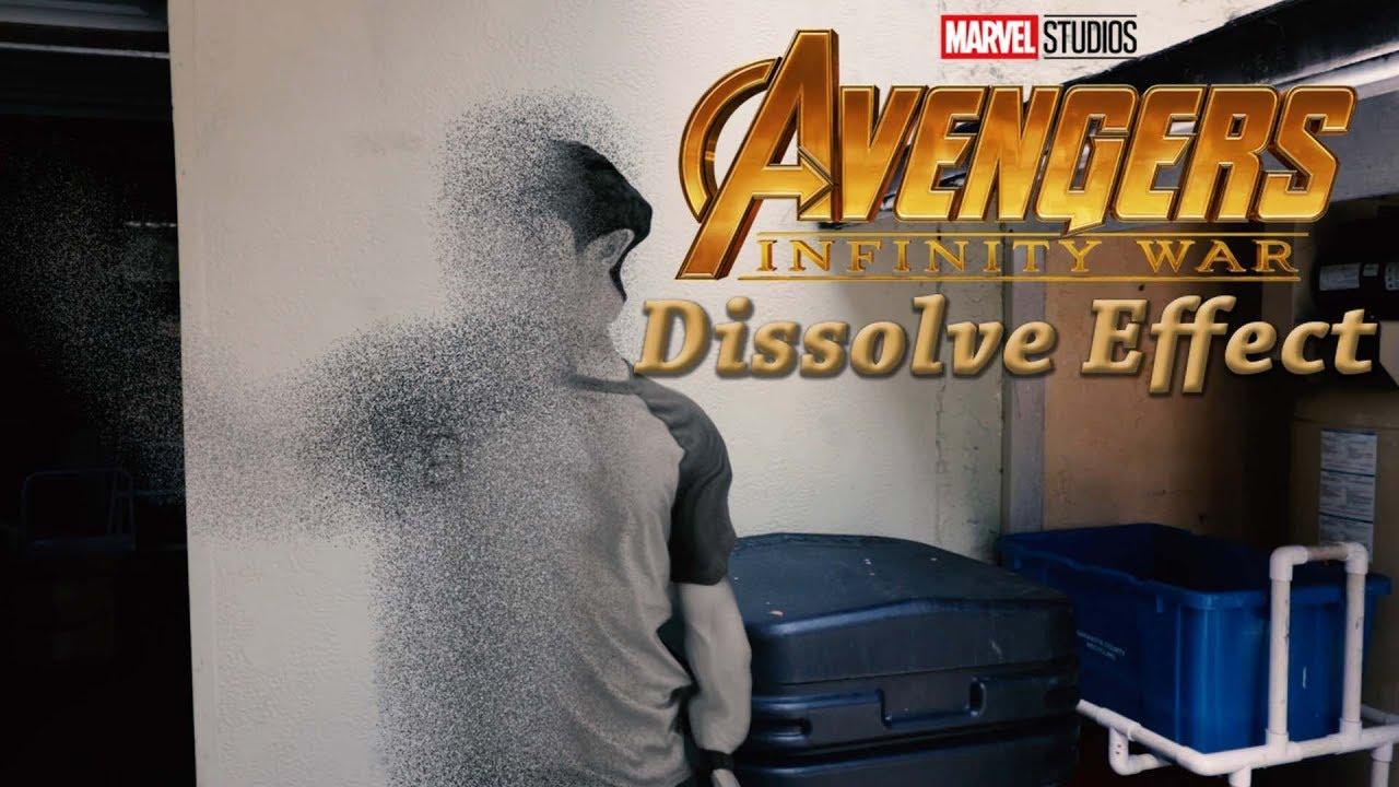 Infinity War Disintegration Scene