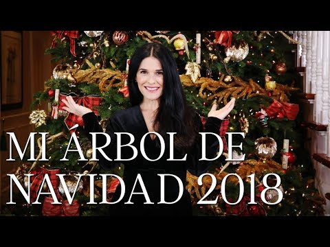 Mi árbol de Navidad 2018   Martha Debayle