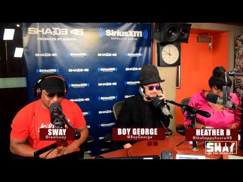 Boy George raps for the first time in public + Talks About His Music Influence's & Experimentations