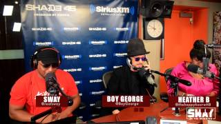Boy George raps for the first time in public + Talks About His Music Influence