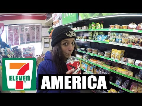 7-ELEVEN IN AMERICA | A LOOK INSIDE (VLOG)
