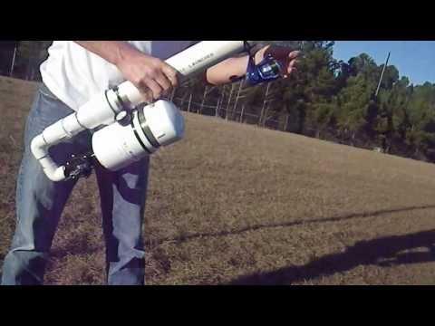 Pneumatic Tennis Ball Launcher