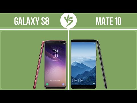 Samsung Galaxy S8 Vs Huawei Mate 10 ✔️