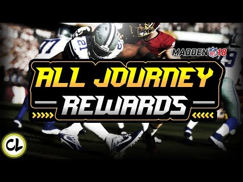 EVERY JOURNEY REWARD! ELITE PULLS! Madden 18 Ultimate Team