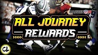 EVERY JOURNEY REWARD! ELITE PULLS! Madden 18 Ultimate Team