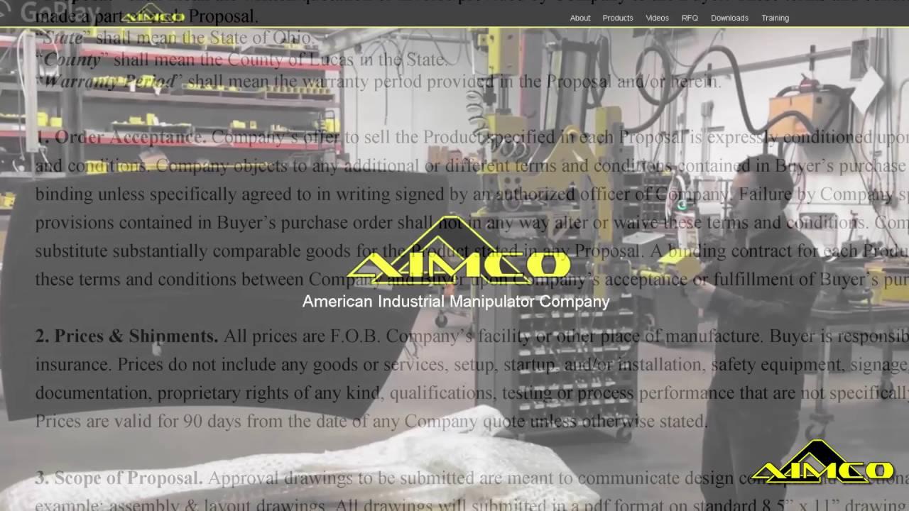 AIMCO Distributor Training
