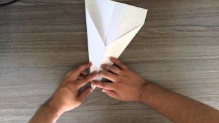 How To Make Paper Airplane Bullet Model