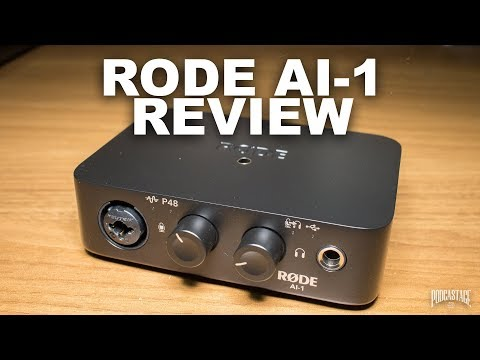 Rode AI-1 USB Audio Interface Review / Test / Explained