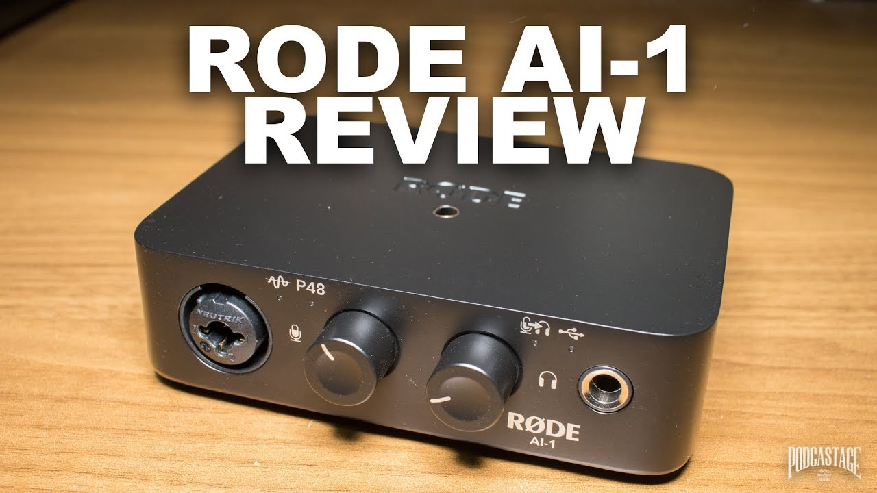 Usb Audio Interfaces Test : rode ai 1 usb audio interface review test explained youtube ~ Hamham.info Haus und Dekorationen