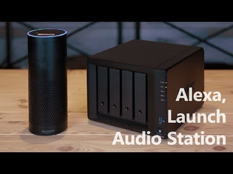 Play Music With Audio Station Using Alexa Device | Synology