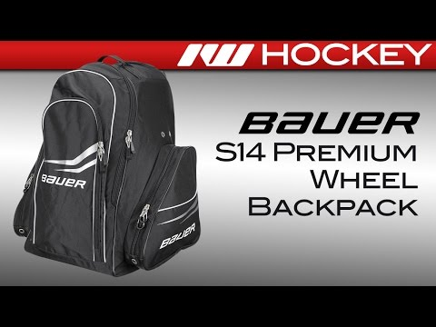 Bauer S14 Premium Wheel Hockey Backpack Review