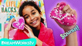 Valentine's Squishy Heart | LIFE HACKS FOR KIDS