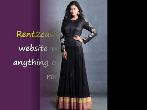Rental party wear dress - YouTube