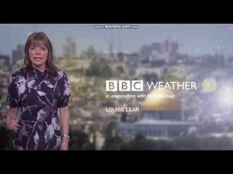 Louise Lear BBC World Weather April 19th 2018