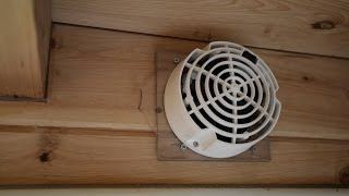 Shower Vent For Tiny House