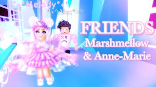 AMIGOS     Marshmellow & Anne-Marie     Royale alto     Roblox