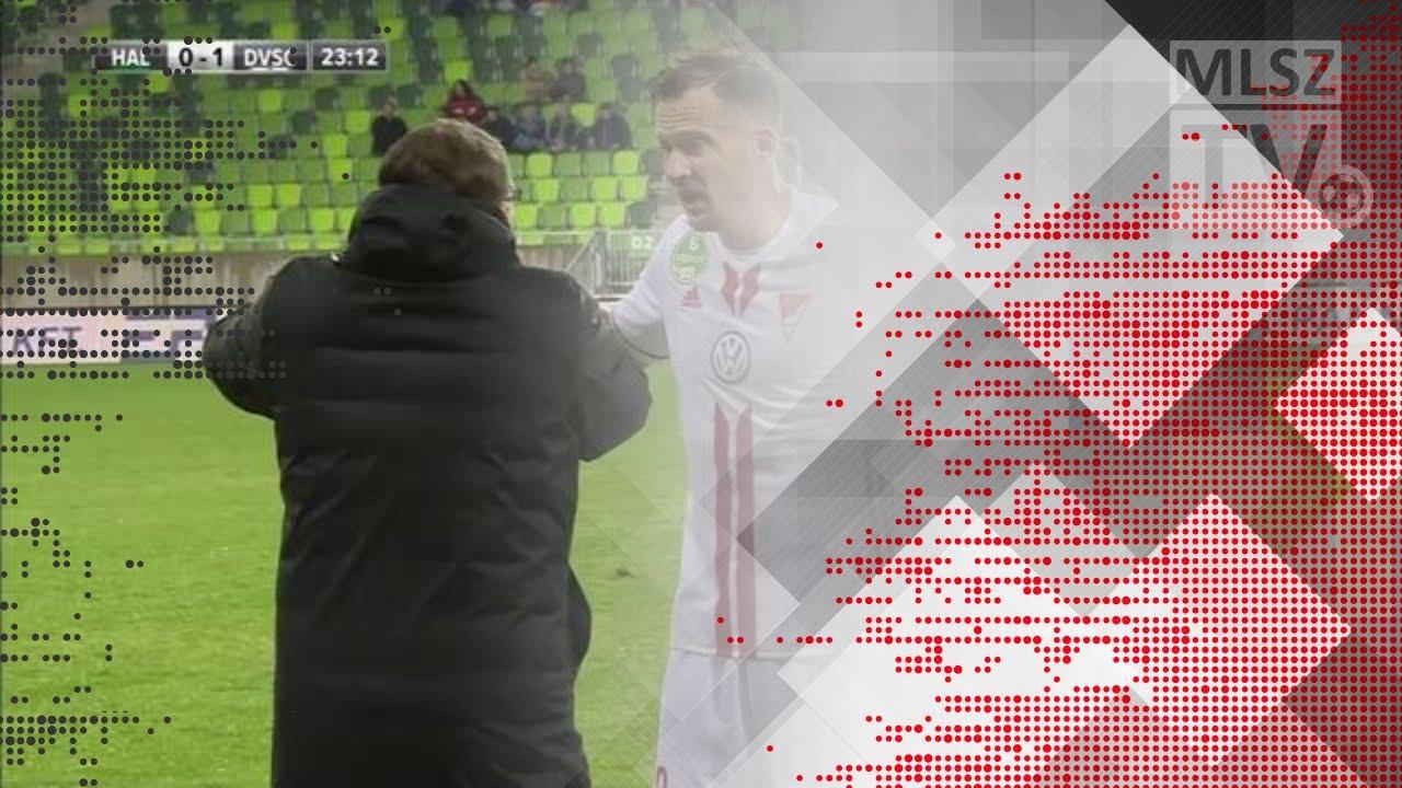 Könyves Norbert gólja a Swietelsky Haladás - DVSC mérkőzésen