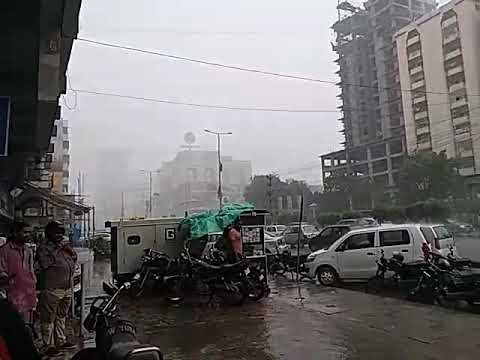 Karachi Rain 29-Aug-17 Clifton teen talwar