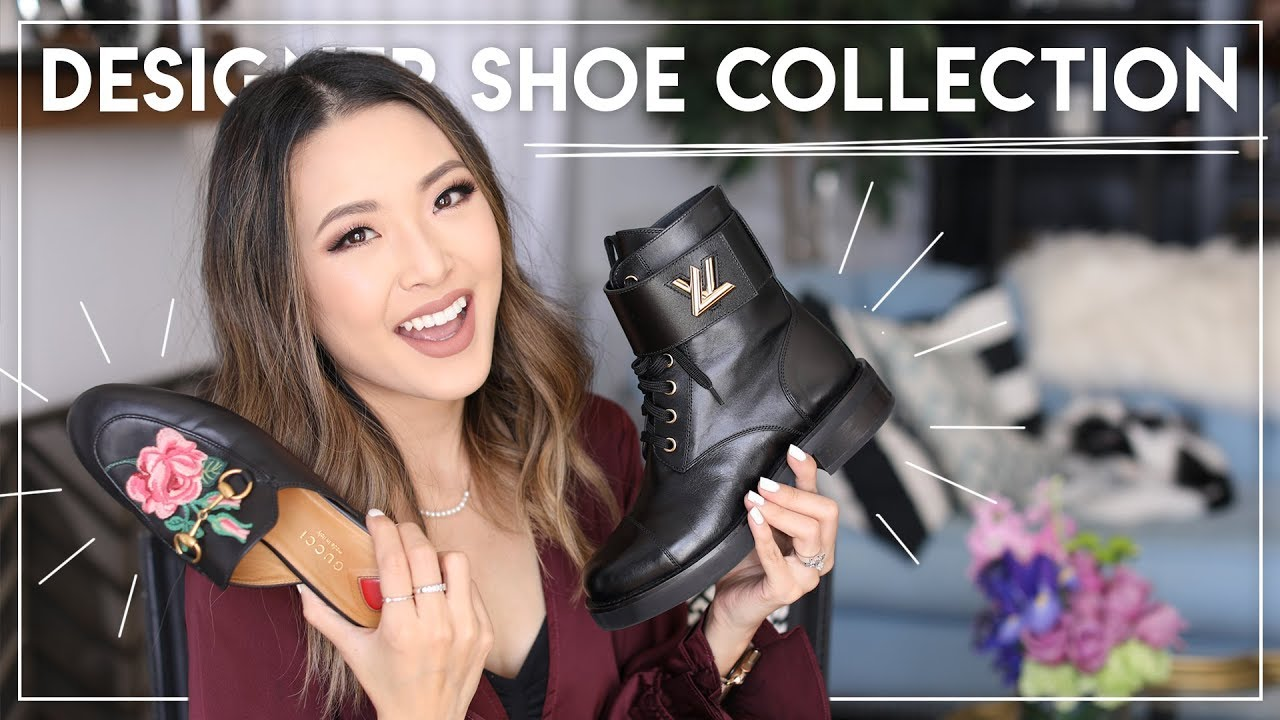 7af7d0ec6b MY DESIGNER SHOE COLLECTION | Louis Vuitton, Gucci, Chloe, Balenciaga