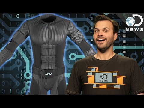 This Virtual Reality Suit Lets You Experience Touch from YouTube · Duration:  5 minutes 1 seconds