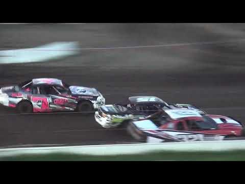 IMCA Stock Car Heat Farley Speedway 7/14/17