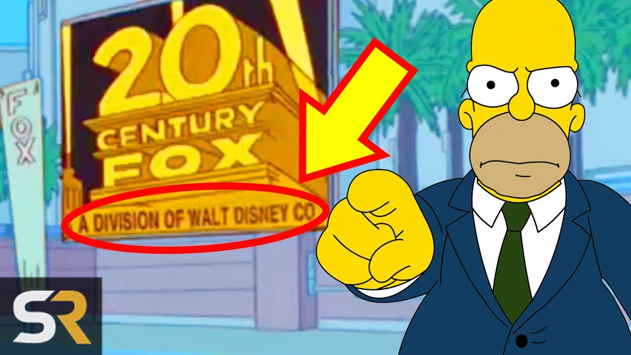 10 Times The Simpsons Dissed Fox Youtube