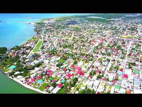 Belize Drone Footage | DJI Mavic Pro Over Belize city