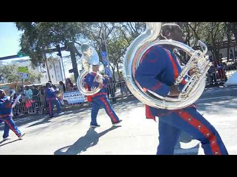 Stranahan high school/Ft. Lauderdale marching in St. Pete MLK 2019