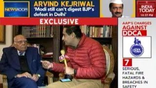 Exclusive: Ram Jethmalani Speaks To India Today