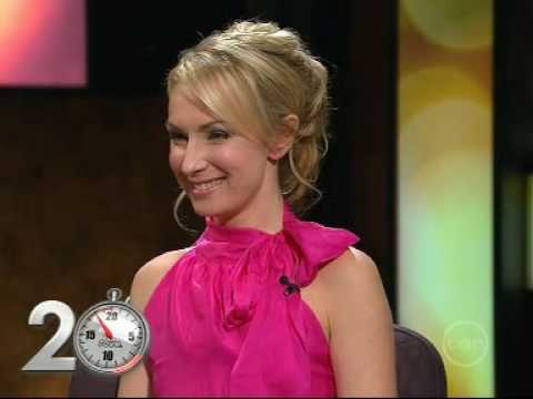 Lisa McCune - 20 Bucks - Rove 2008 from YouTube · Duration:  2 minutes 42 seconds