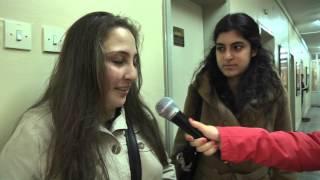 Uzaktan eğitim öğrencileriyle röportaj