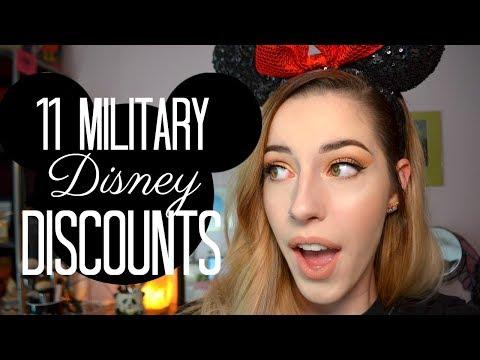 11 Military Disney Discounts!