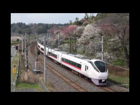 JR Joban Line limited express Tokiwa、Hitachi、Songs、Kazumasa Oda Sayonara Offcourse