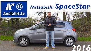 видео Mitsubishi Space Star (Мицубиси Спейс Стар)