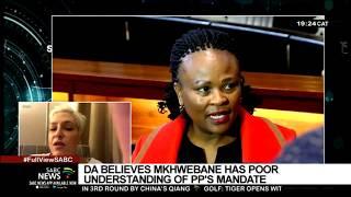 Natasha Mazzone on DA's motion to remove the Public Protector