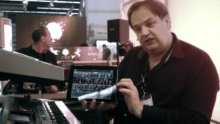 JUPITER-80 Vesion 2/-50 Synthesizer Demo: Musikmesse 2012 Booth Demo performed by Peter Schreurs