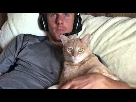 Matt Duffy's cat Skeeter enters spring training in the best shape of his life